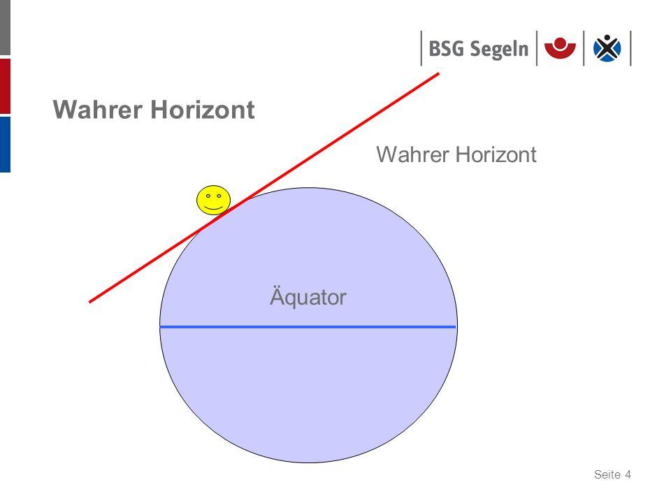 Wahrer Horizont Wahrer Horizont Äquator