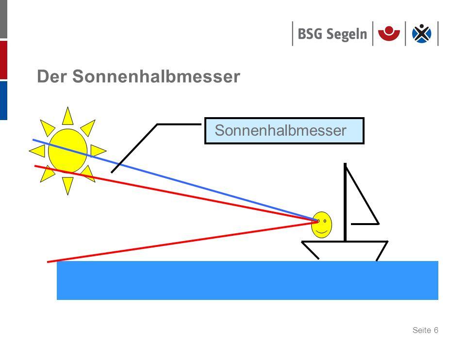 Der Sonnenhalbmesser Sonnenhalbmesser