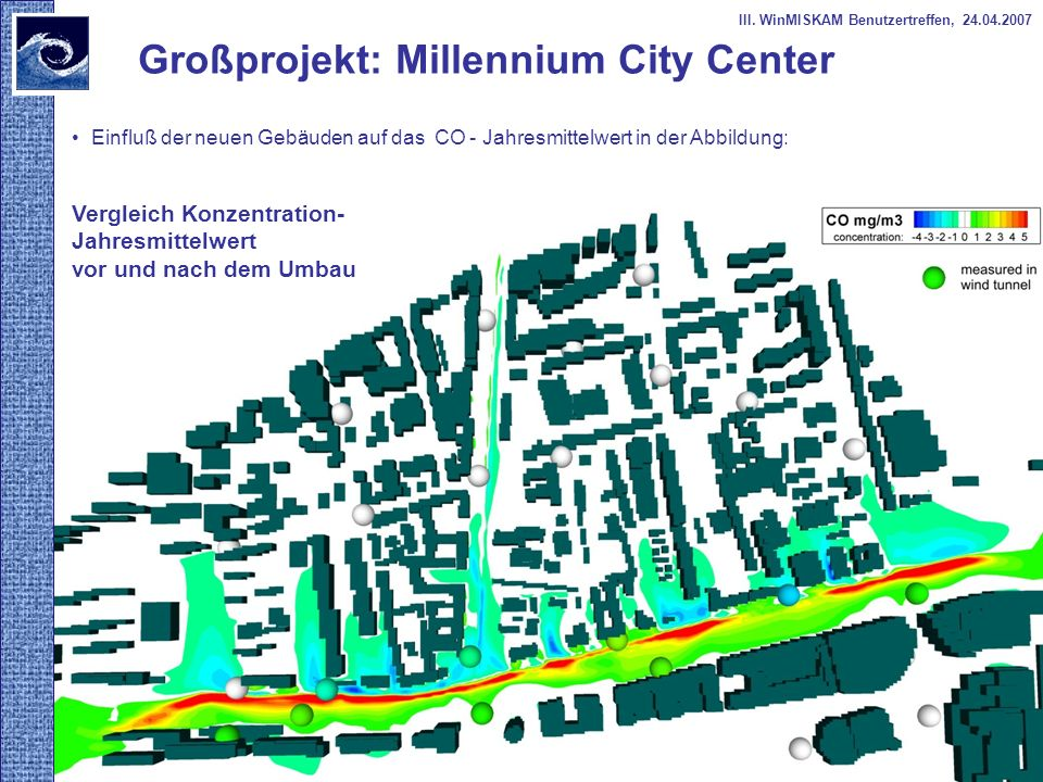 Großprojekt: Millennium City Center