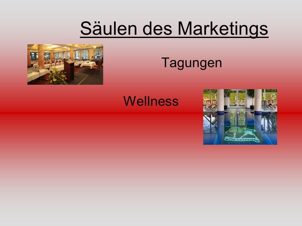 Säulen des Marketings Tagungen Wellness