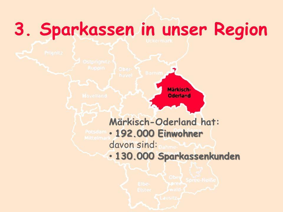 3. Sparkassen in unser Region