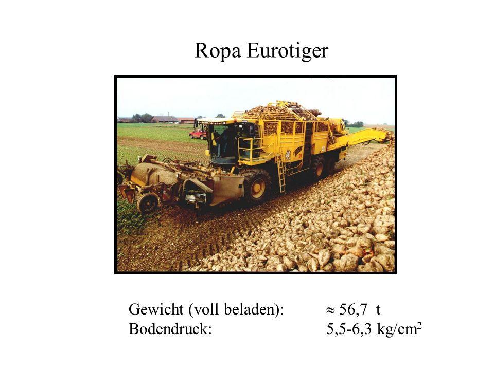 Ropa Eurotiger Gewicht (voll beladen):  56,7 t