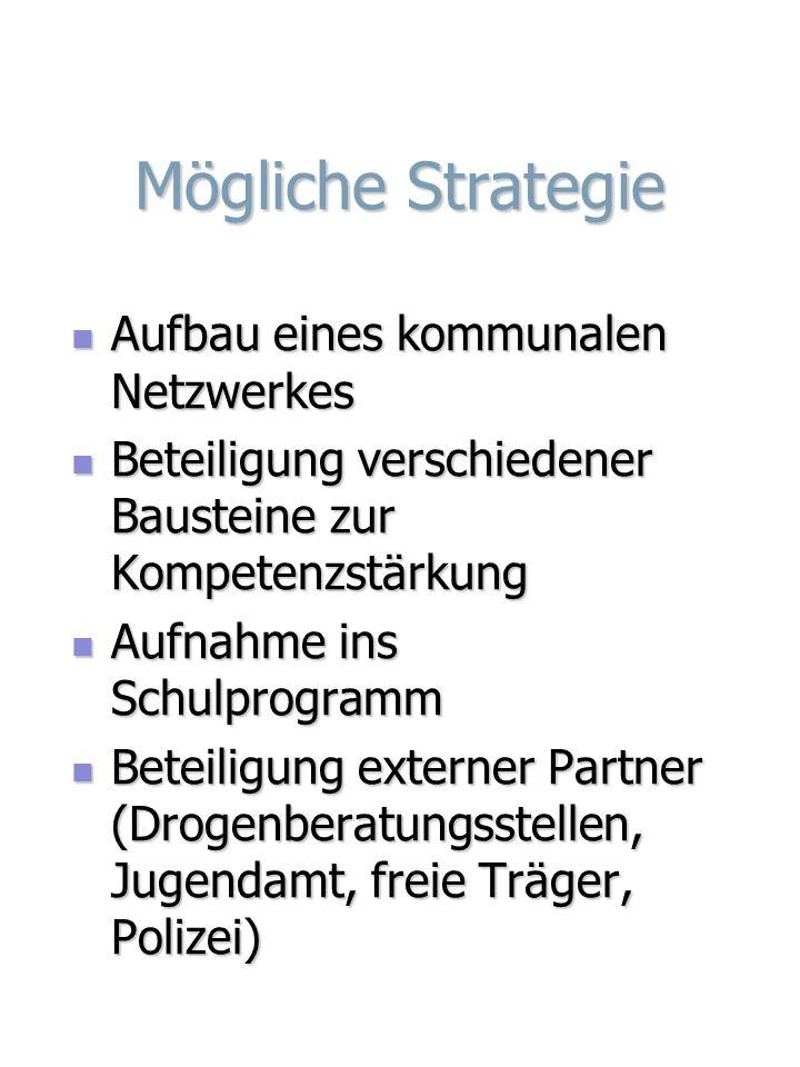 Mögliche Strategie Aufbau eines kommunalen Netzwerkes