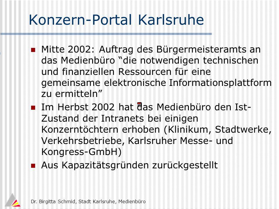 Konzern-Portal Karlsruhe