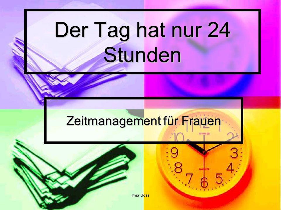 Zeitmanagement für Frauen