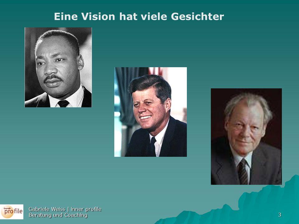 Eine Vision hat viele Gesichter