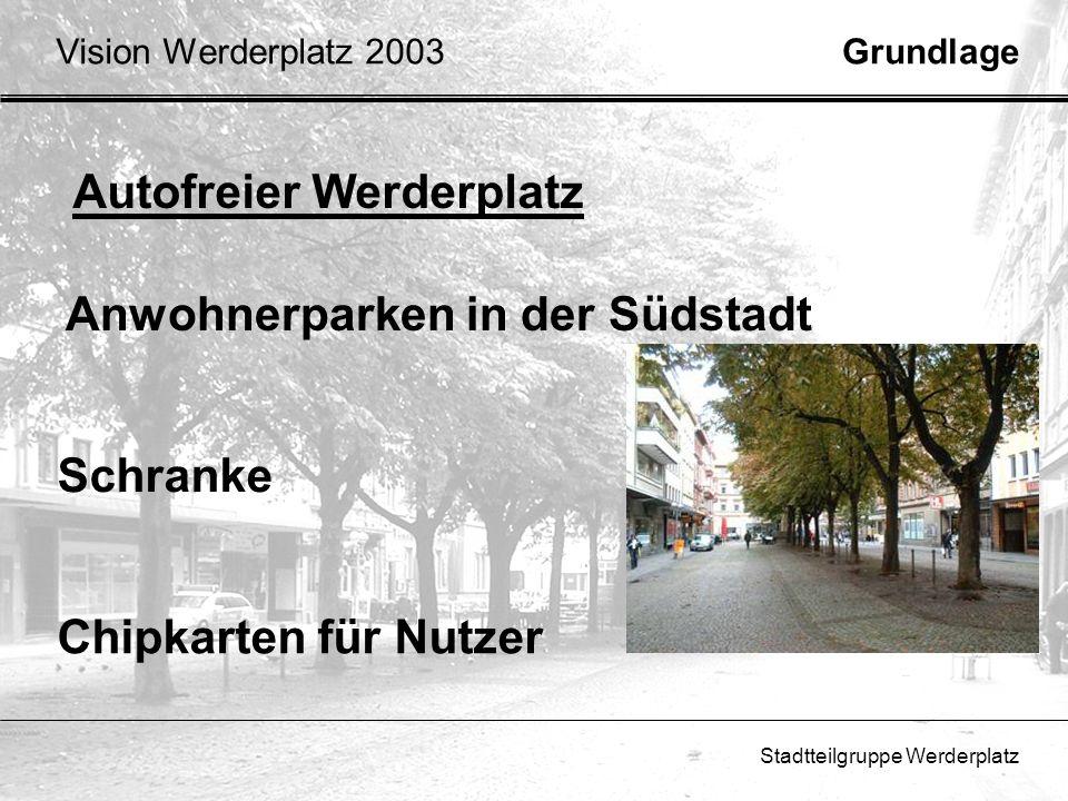 Autofreier Werderplatz