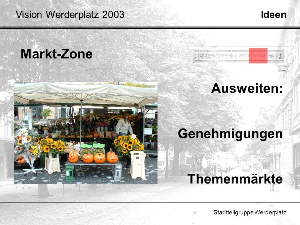 Markt-Zone Ausweiten: Genehmigungen Themenmärkte