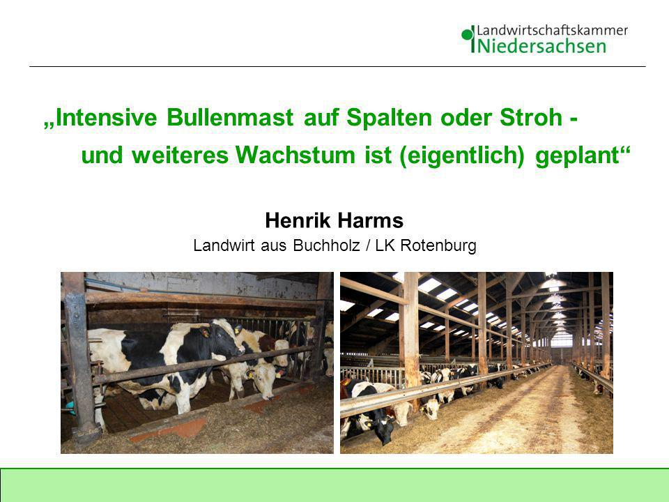 Henrik Harms Landwirt aus Buchholz / LK Rotenburg