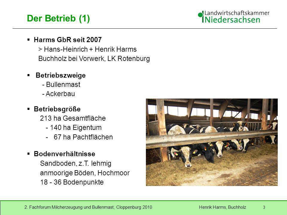 Der Betrieb (1) Harms GbR seit 2007 > Hans-Heinrich + Henrik Harms