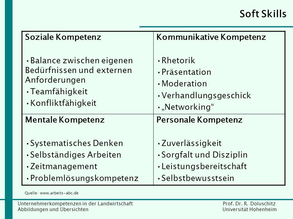 Soft Skills Soziale Kompetenz