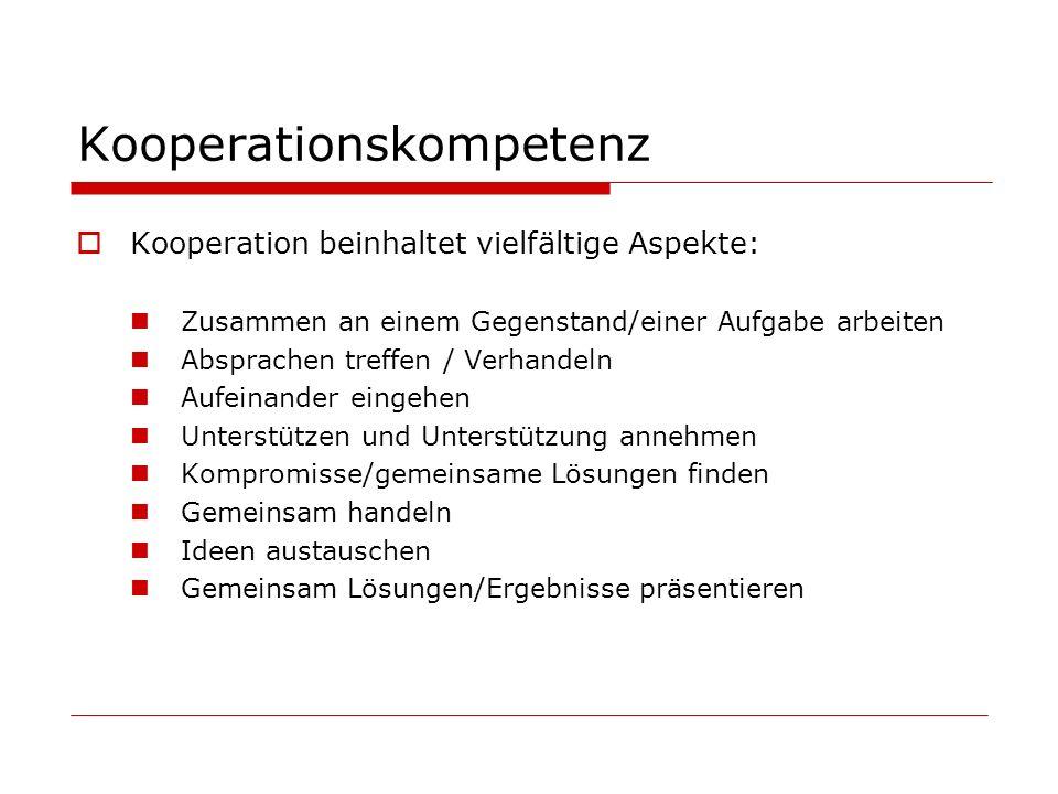 Kooperationskompetenz