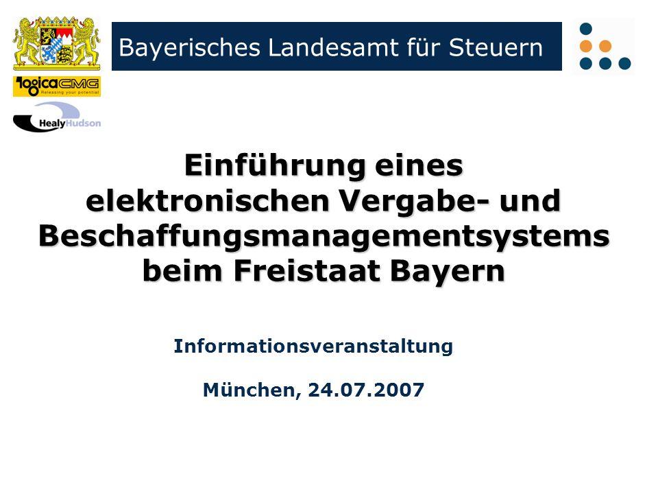 Informationsveranstaltung München, 24.07.2007