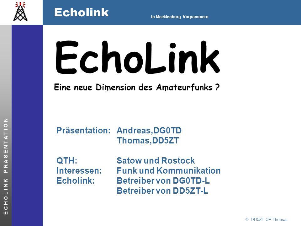 EchoLink Eine neue Dimension des Amateurfunks