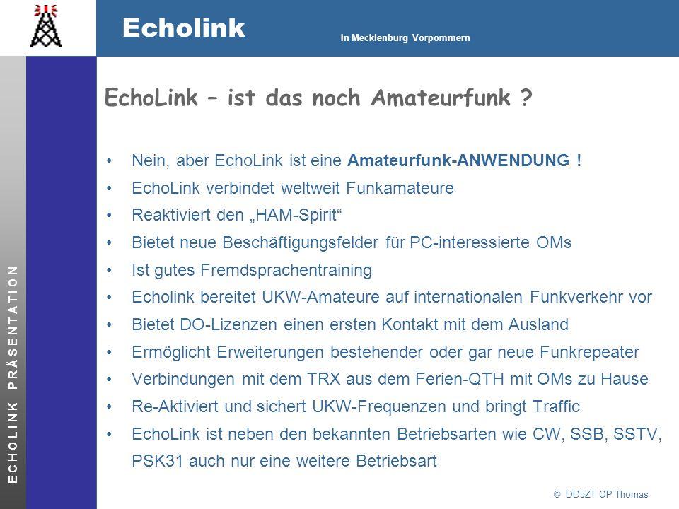 EchoLink – ist das noch Amateurfunk