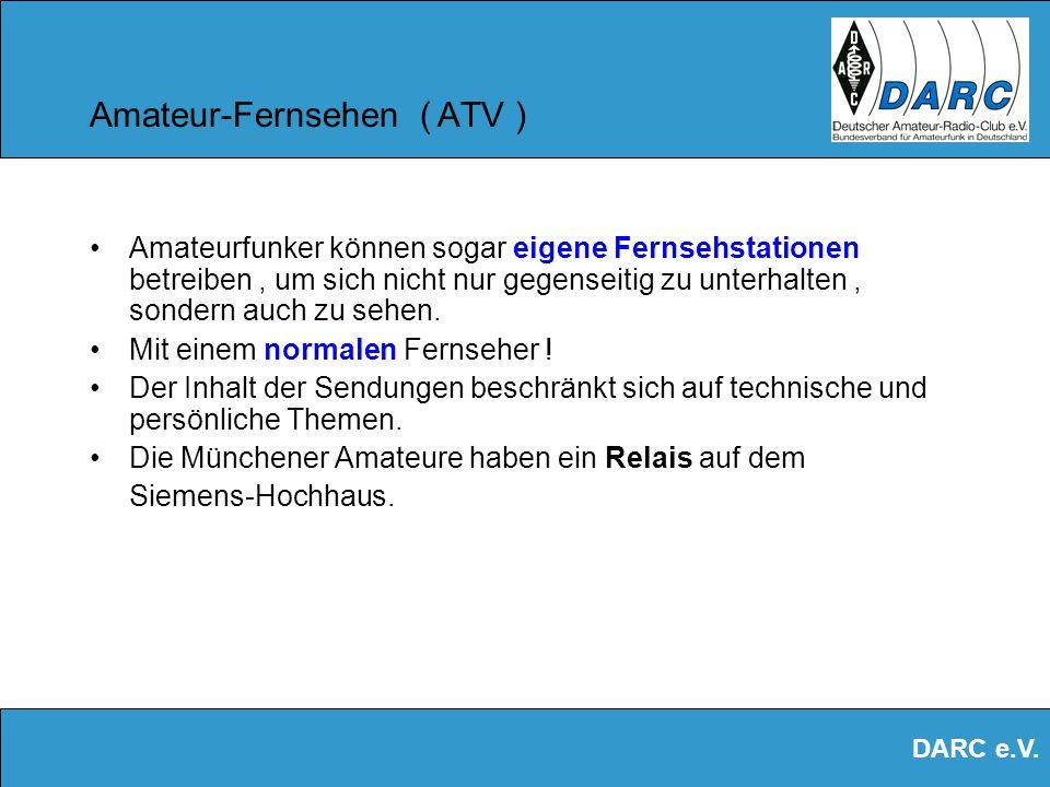 Amateur-Fernsehen ( ATV )