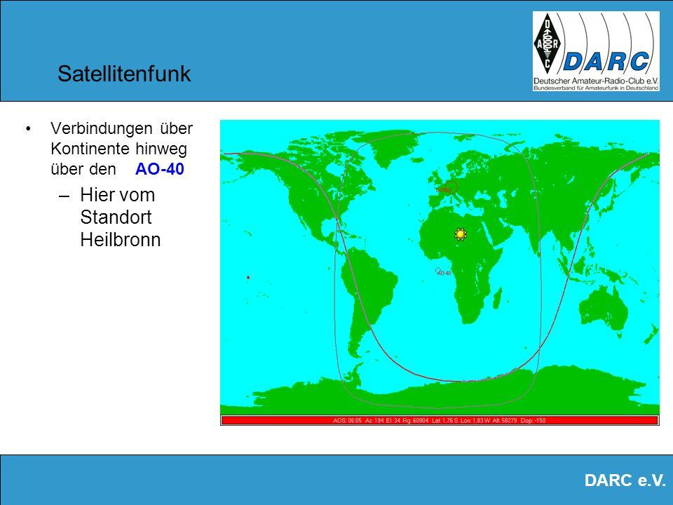 Satellitenfunk Hier vom Standort Heilbronn