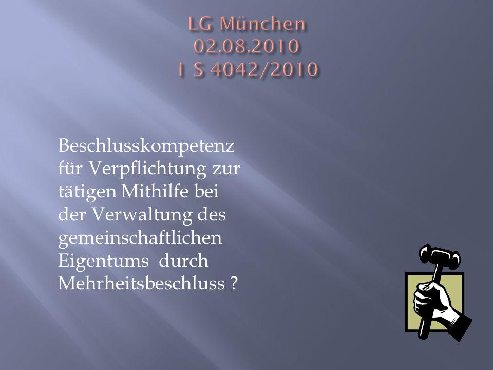LG München 02.08.2010 1 S 4042/2010