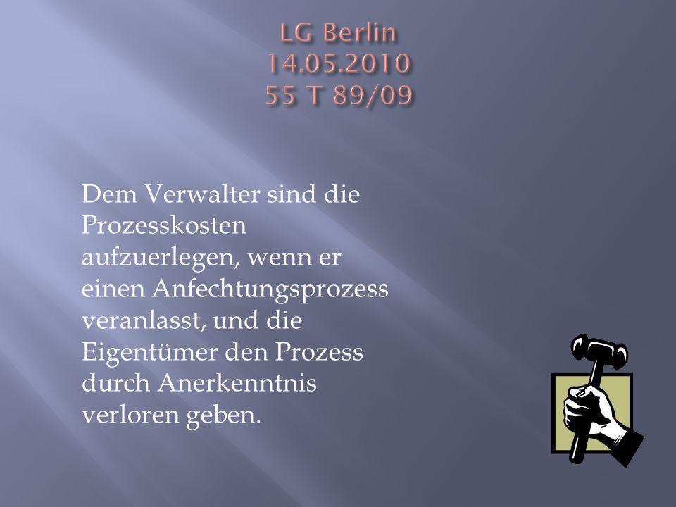 LG Berlin 14.05.2010 55 T 89/09