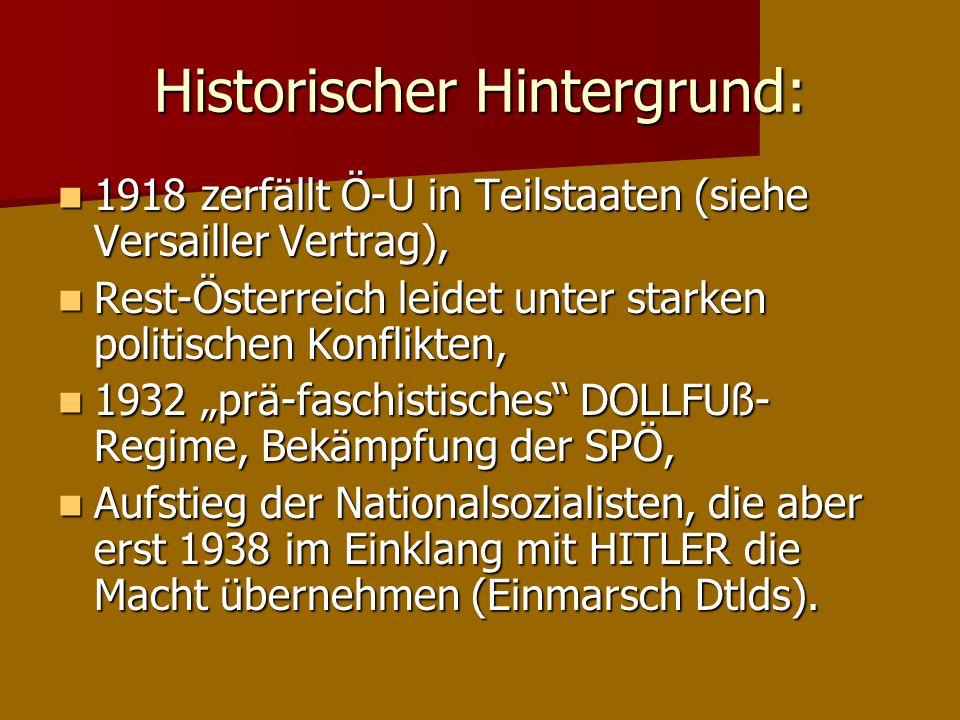 Historischer Hintergrund: