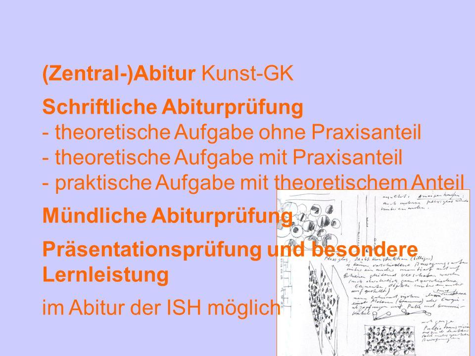 (Zentral-)Abitur Kunst-GK