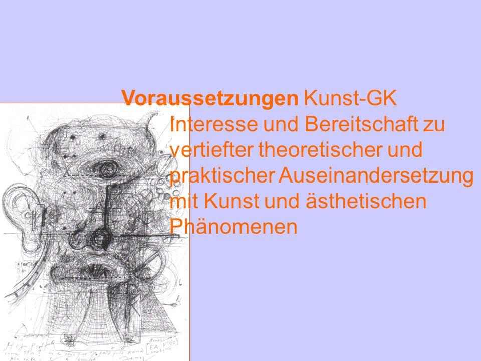Voraussetzungen Kunst-GK