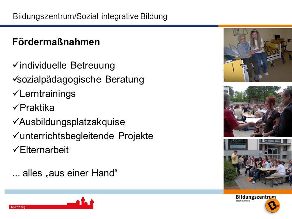 individuelle Betreuung sozialpädagogische Beratung Lerntrainings
