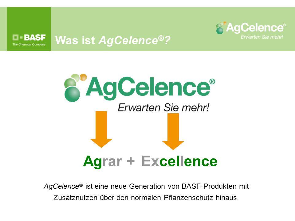 Agrar + Excellence Was ist AgCelence®