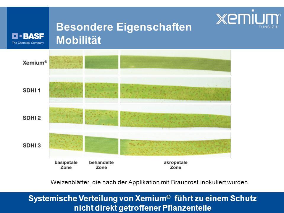 Besondere Eigenschaften Mobilität