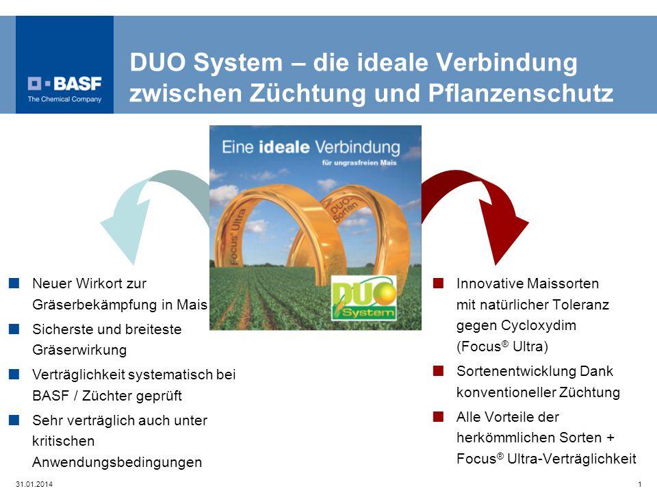 DUO System – die ideale Verbindung zwischen Züchtung und Pflanzenschutz