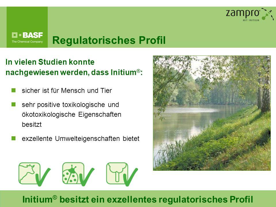 Initium® besitzt ein exzellentes regulatorisches Profil
