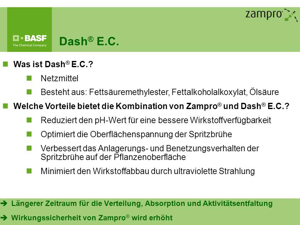 Dash® E.C. Was ist Dash® E.C. Netzmittel