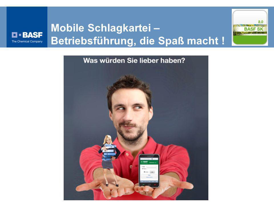 Mobile Schlagkartei – Betriebsführung, die Spaß macht !