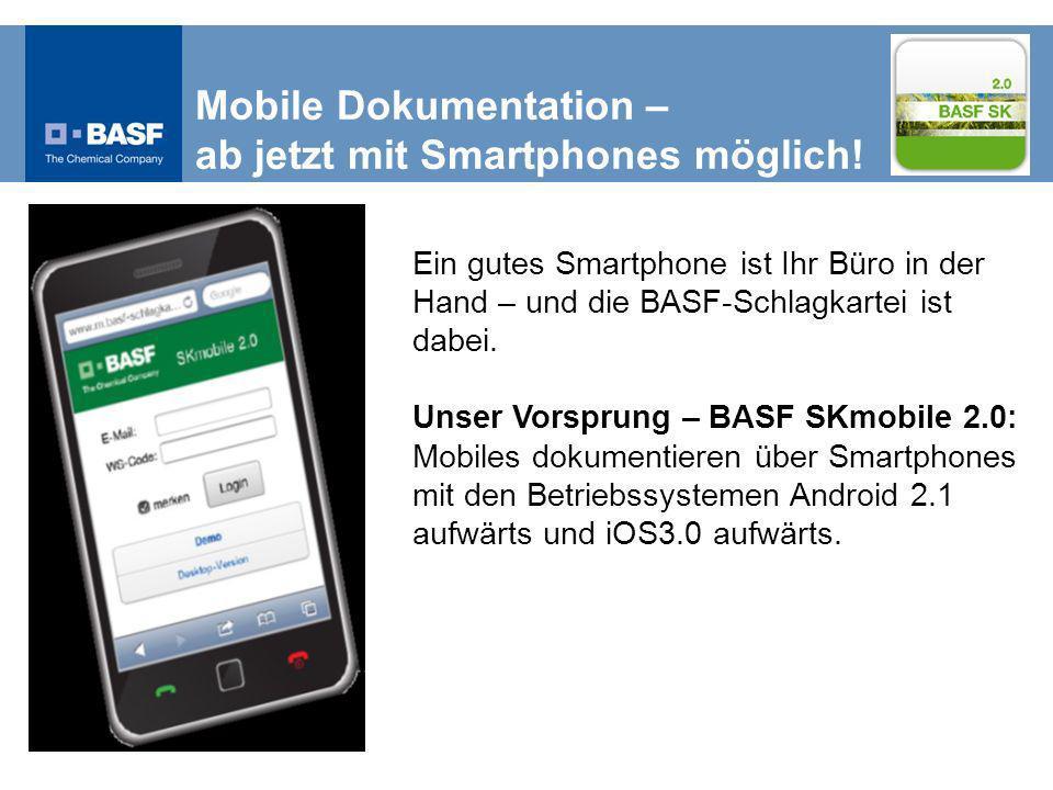 Mobile Dokumentation – ab jetzt mit Smartphones möglich!