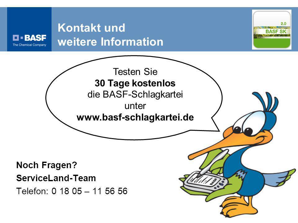 Kontakt und weitere Information