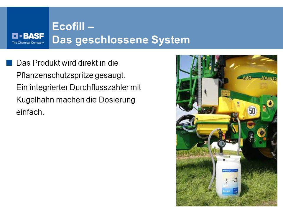 Ecofill – Das geschlossene System