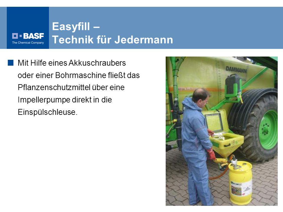 Easyfill – Technik für Jedermann