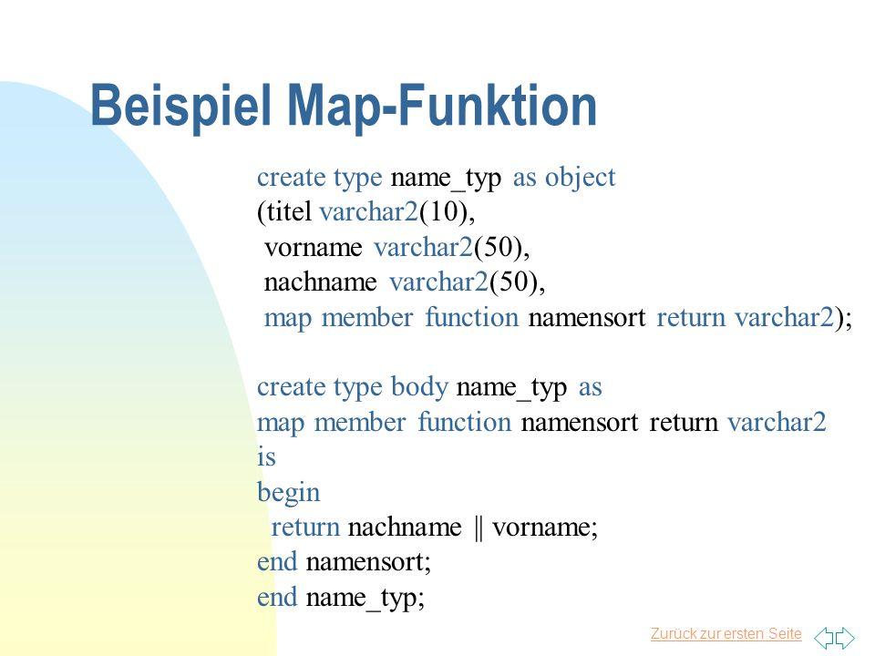 Beispiel Map-Funktion