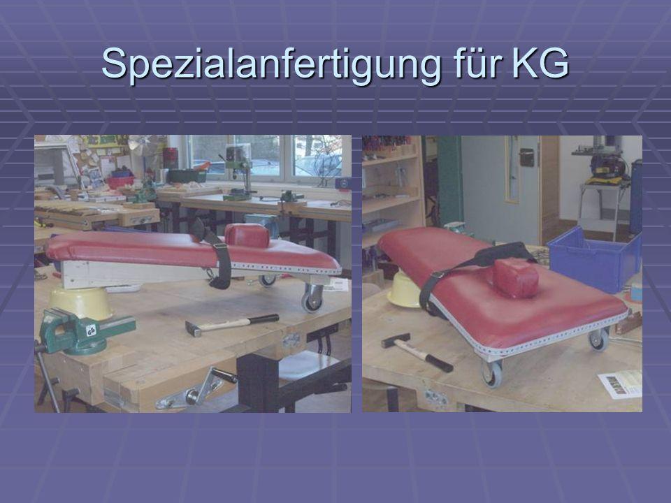 Spezialanfertigung für KG