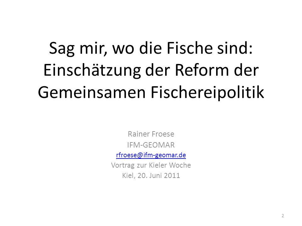 Vortrag zur Kieler Woche