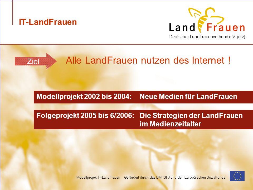 Alle LandFrauen nutzen des Internet !