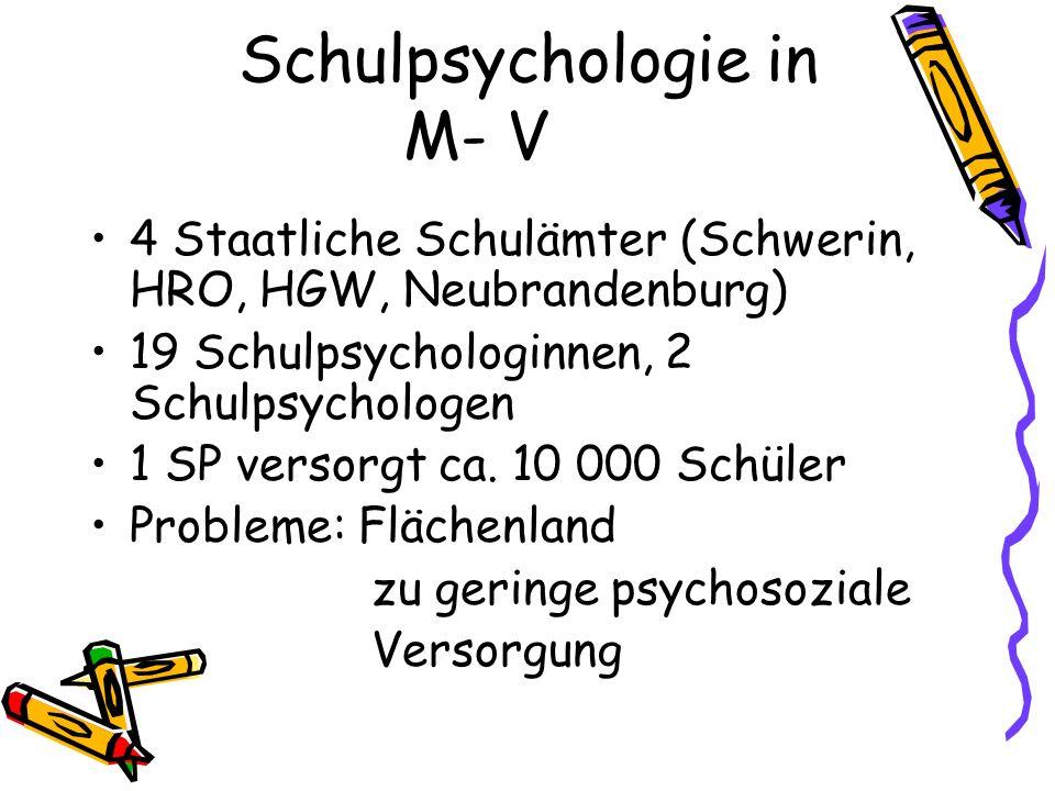 Schulpsychologie in M- V