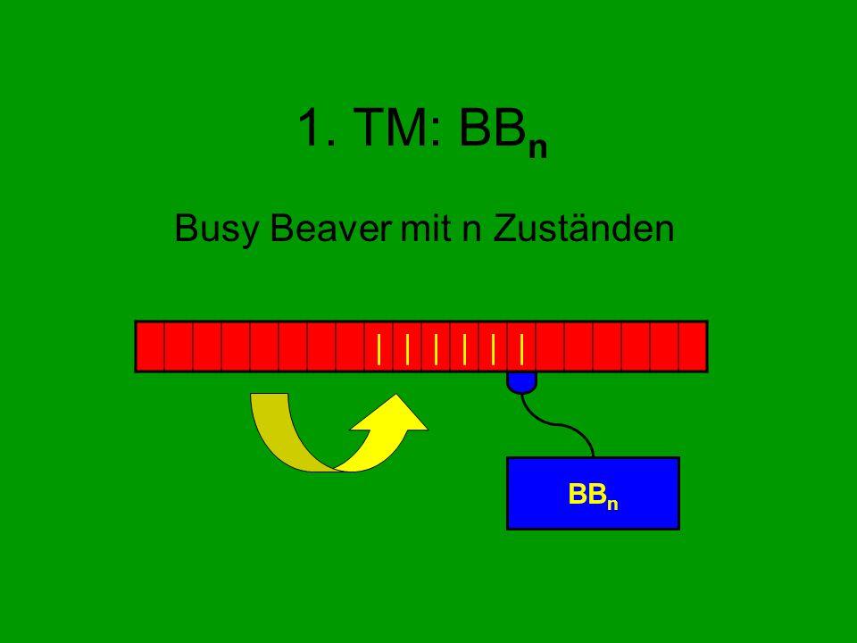 Busy Beaver mit n Zuständen