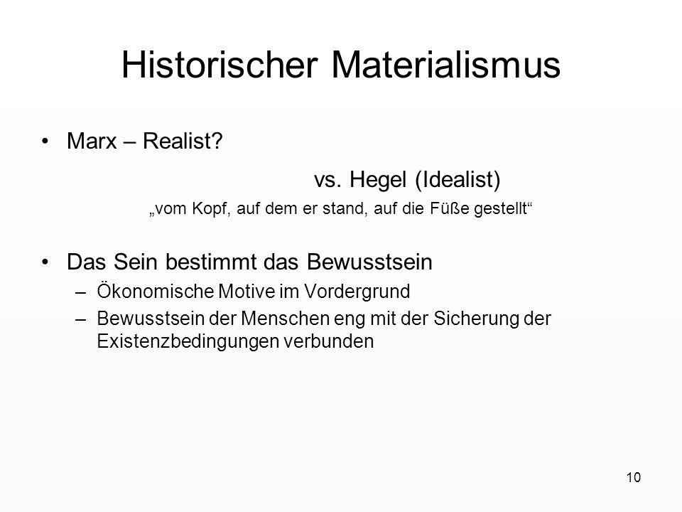 Historischer Materialismus