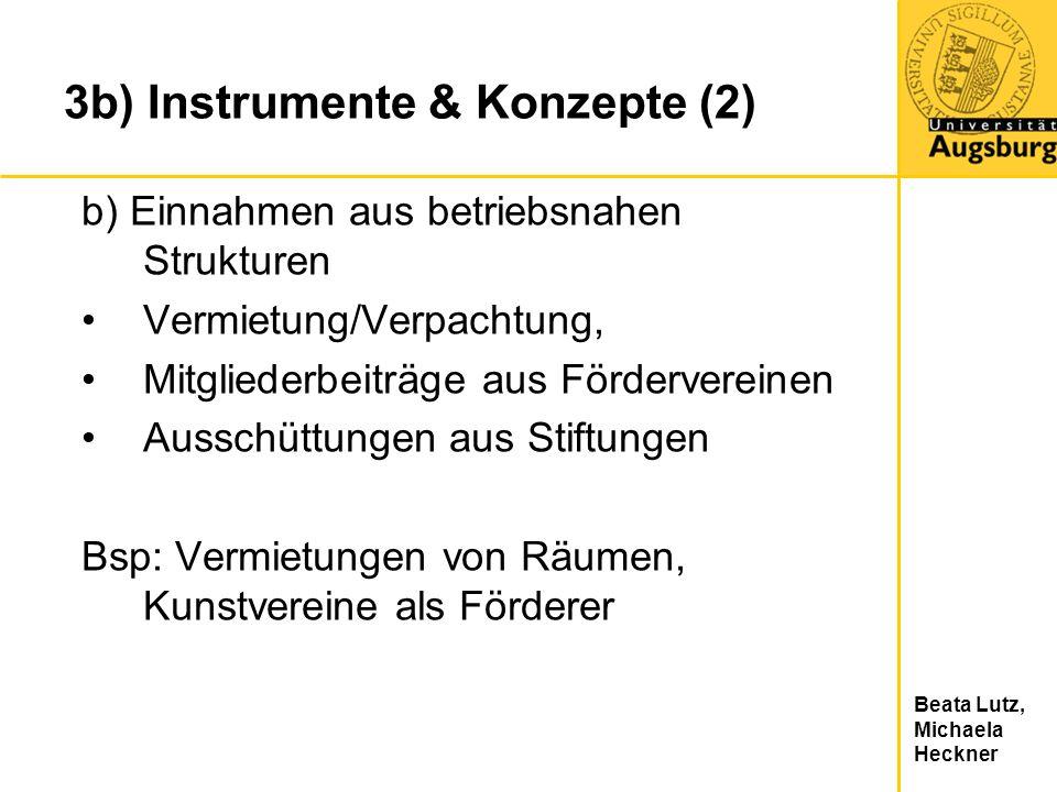 3b) Instrumente & Konzepte (2)