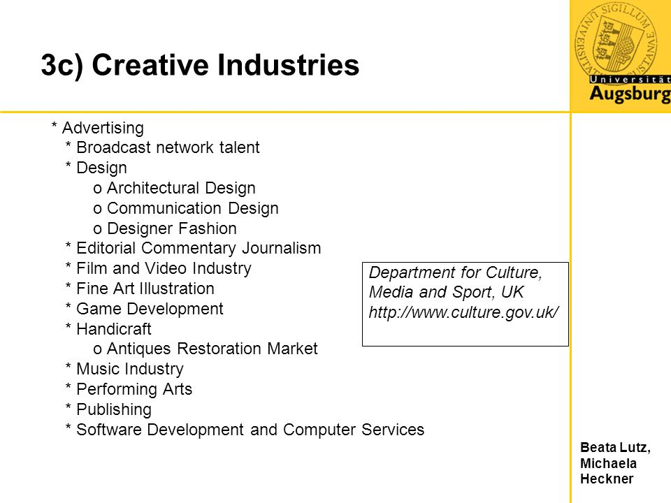 3c) Creative Industries