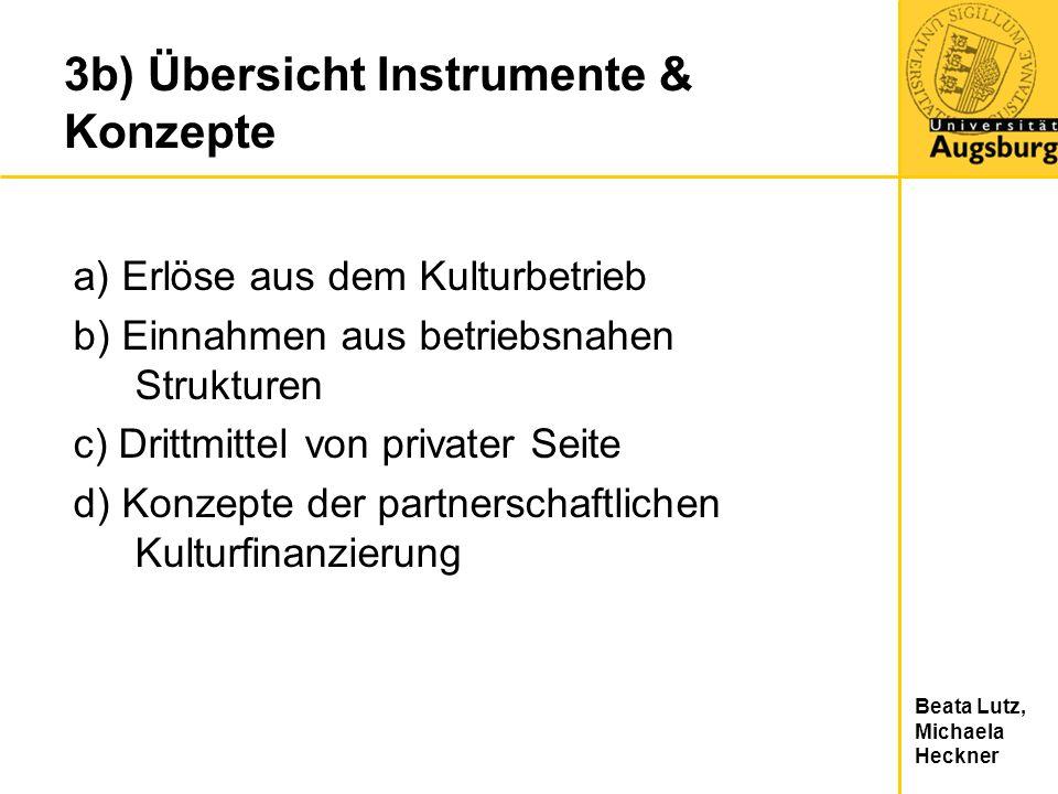 3b) Übersicht Instrumente & Konzepte