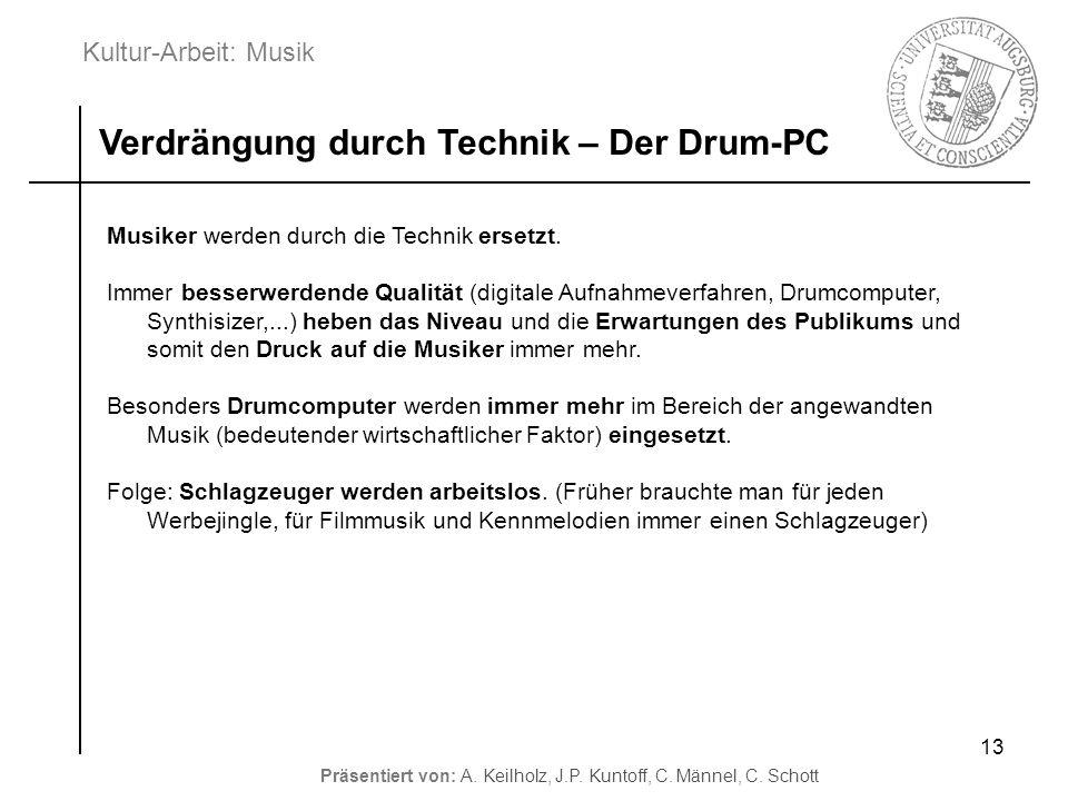 Verdrängung durch Technik – Der Drum-PC
