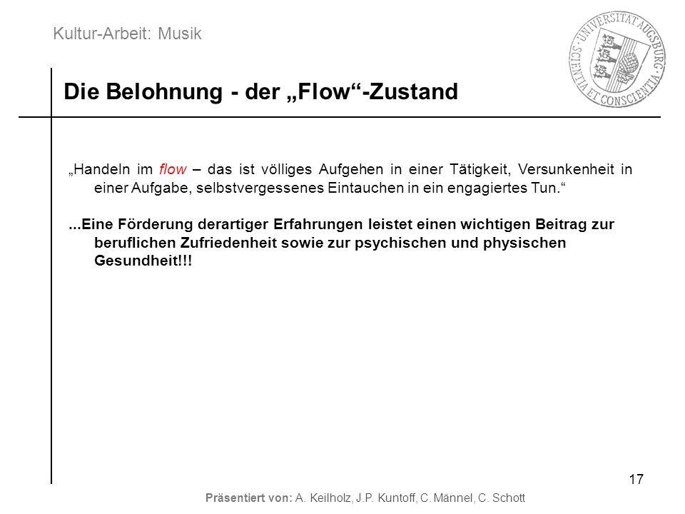 """Die Belohnung - der """"Flow -Zustand"""