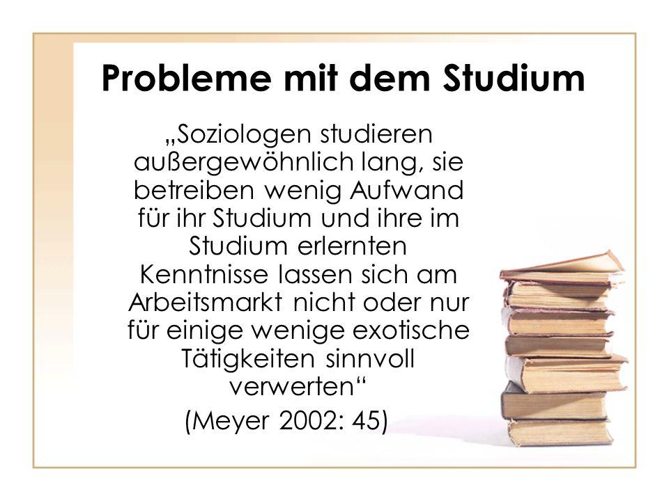 Probleme mit dem Studium
